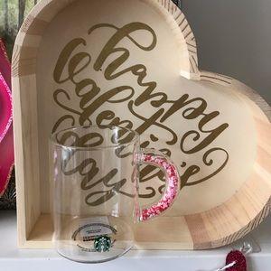 RARE Starbucks Valentines Confetti Mug